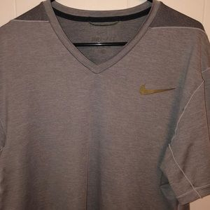 Heavyweight Premium Nike Dri-Fit V-Neck T-Shirt